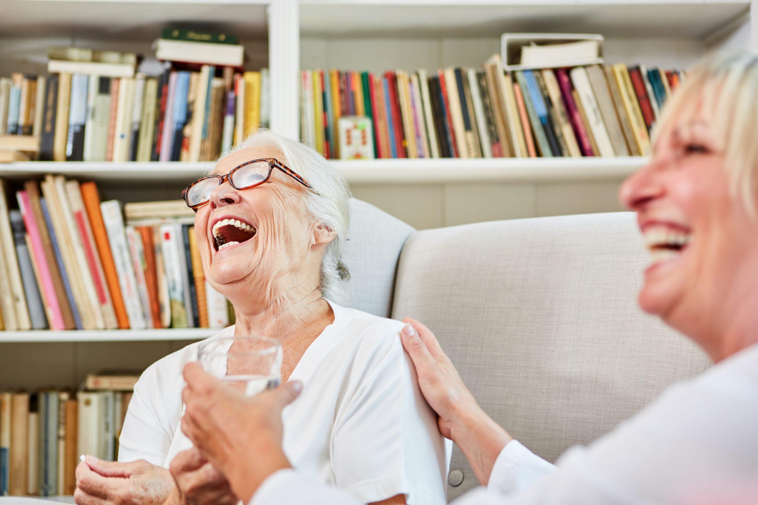 companionship-care-senior-enjoying-moment-with-senior-care-plus-cargiver